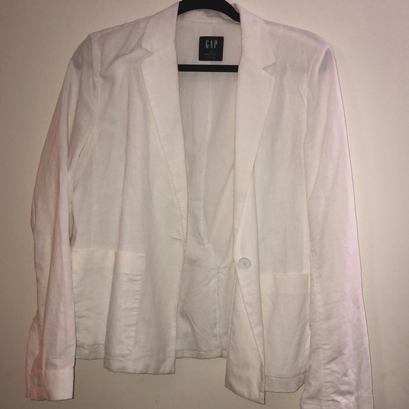 GAP Jackets & Blazers - White Blazer